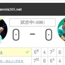全豪OPテニス4回戦・・・勝った\(^o^)/の記事に添付されている画像