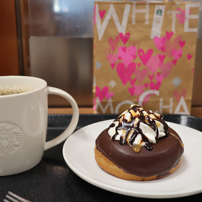 【Starbucks 】スタバ ドーナツもカスタマニア の記事に添付されている画像