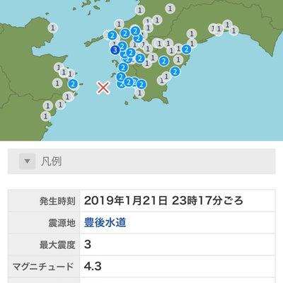 地震の記事に添付されている画像