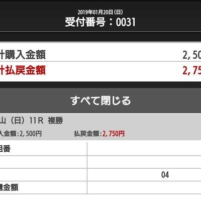 ◆複勝コロガシ「成功」 スーパー勝負レースの結果(1月)◆の記事に添付されている画像