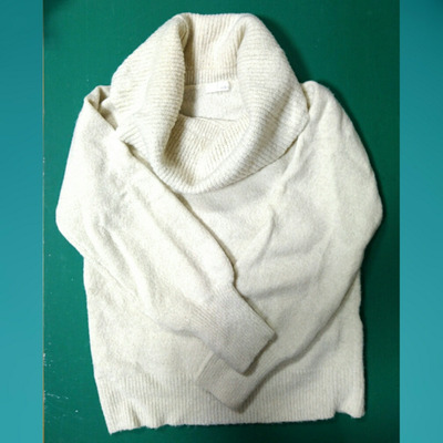 白いセーターの話の記事に添付されている画像