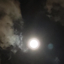 満月の日に完成('▽'*)☆☆☆の記事に添付されている画像
