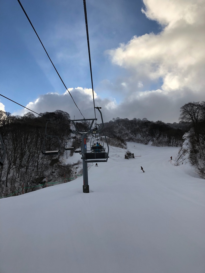 スキー 奥 積雪 伊吹 場