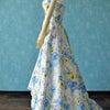 ドレス用広幅☆咲いた!花花プリント生地の画像