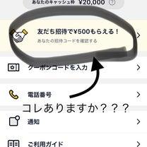 重要追記❷見て!】紹介コード利用で500円ゲット!の記事に添付されている画像