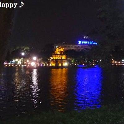 ホアンキエム湖の散歩&ベトナムのコンビニ~2018.11ハノイ旅行1日目♪の記事に添付されている画像