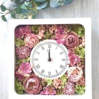 【オーダー】花時計❤️お母様からご結婚される娘様へ。の記事に添付されている画像