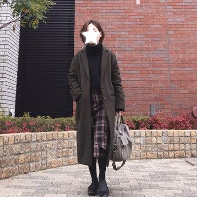 ブラック×ブラウン お気に入りのスカートコーデ。の記事に添付されている画像