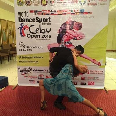 ダンスへの想いが変わった試合_フィリピン セブオープン3の記事に添付されている画像