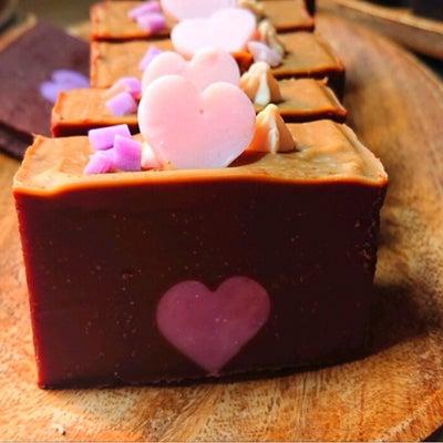 チョコレート石けんカットお写真♪生徒様より♡の記事に添付されている画像