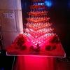 シャンパンタワー赤の画像