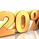 オンラインショップ20%還元✨本日終了ーーーー(≧∀≦)の記事より