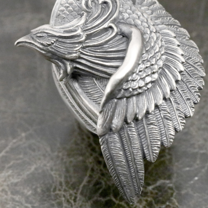 dualflow デュアルフロウ 鳳凰 リング シルバー 羽 シルバーギークス