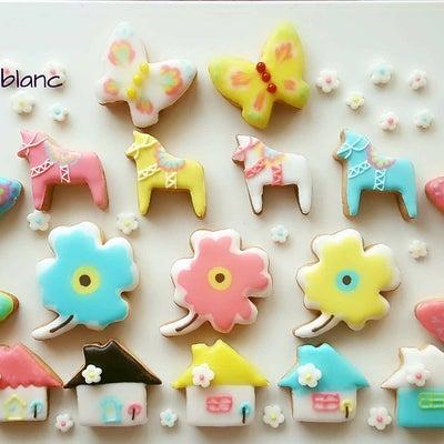 可愛いがとまらない【北欧の春】アイシングクッキーの記事に添付されている画像