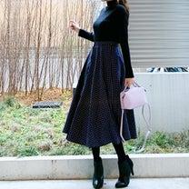 UNIQLO 全色買いした着痩せリブニット♪の記事に添付されている画像