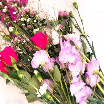 お花屋さんの生徒様作品の記事に添付されている画像