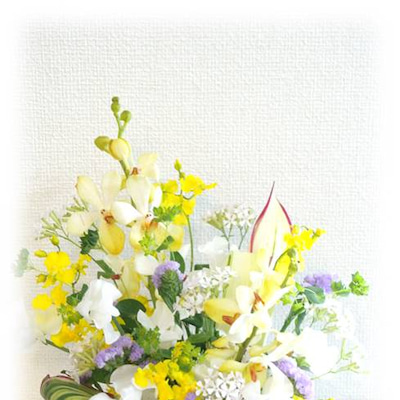 モカラで春ふわアレンジメント♪の記事に添付されている画像