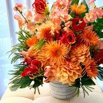 お洒落で女性らしく大人なお祝い花の記事に添付されている画像