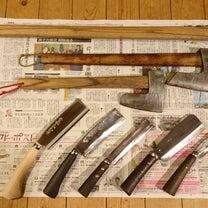 薪割り用の鉈と斧の記事に添付されている画像