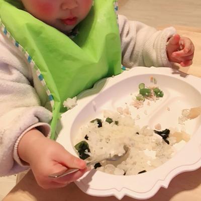 ♡【1歳2ヶ月】スプーンの一人食べが急にうまくなった♡の記事に添付されている画像