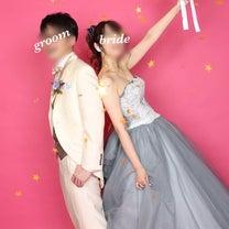 前撮りレポ♡スタジオaim〜撮影②ピンク×スター×ブーケの記事に添付されている画像