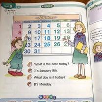 【小学生英語】日付と曜日の練習、アクティビティプラン。の記事に添付されている画像