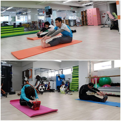 2019.1.24「ランニングのための体幹作り&呼吸法」の記事に添付されている画像