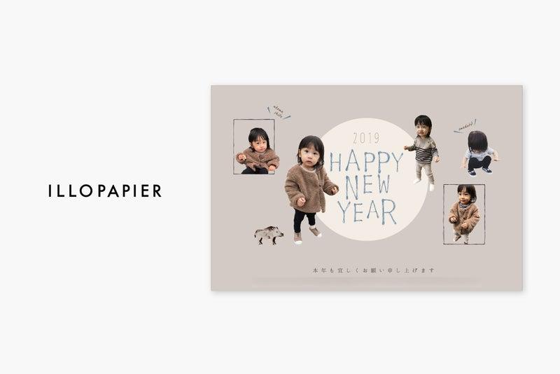 2019年賀状フルオーダー デザイン紹介-2