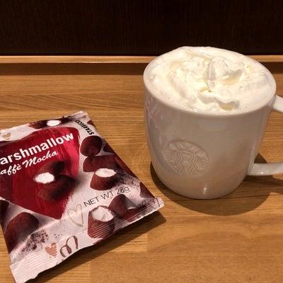 スタバ ホワイトホットチョコレートの記事に添付されている画像