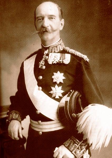 King of Greece, Georgios I (b.1845 - d.1913)<br />