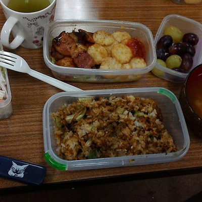 貴重な1食と週末のおうちごはんの記事に添付されている画像