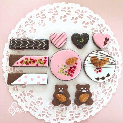 【募集中】バレンタインアイシングクッキーレッスンの記事に添付されている画像