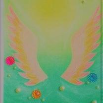 【メニュー】あなたの守護天使を描きますの記事に添付されている画像