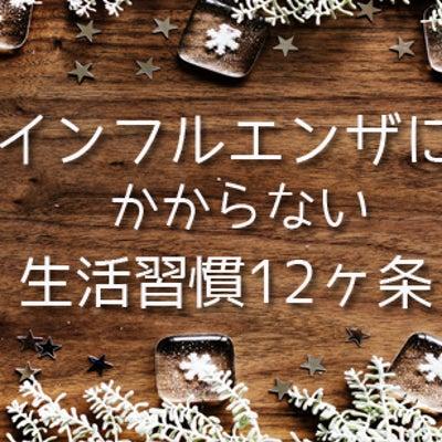 インフルエンザにかからない生活習慣12か条☆の記事に添付されている画像