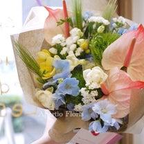男性の方への花束の記事に添付されている画像