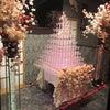 桜シャンパンタワーの画像