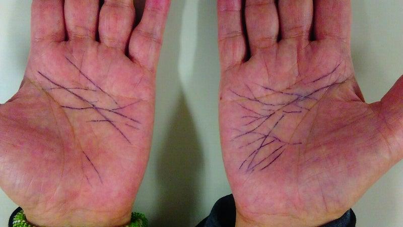 「手相 両手」の画像検索結果