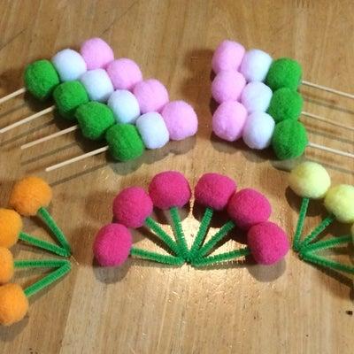 三色だんごとさくらんぼの記事に添付されている画像