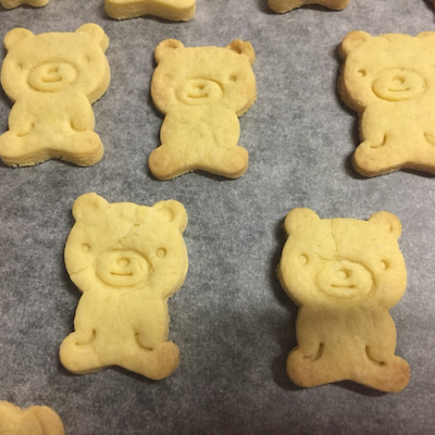 お菓子作りの記事に添付されている画像