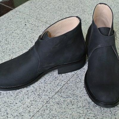 【21】Ado shoes/ single monk/ nubuck/ anklの記事に添付されている画像