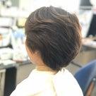 くせ毛で多毛ですがノンブローで仕上ました。の記事より