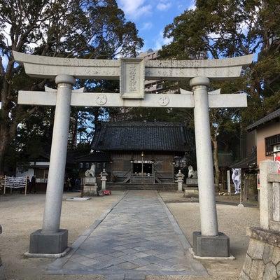 愛知県岡崎市、菅生神社の記事に添付されている画像