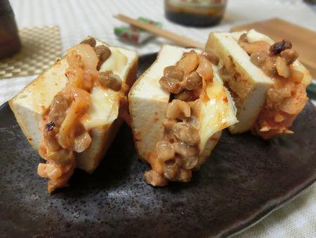 納豆 キムチーズ