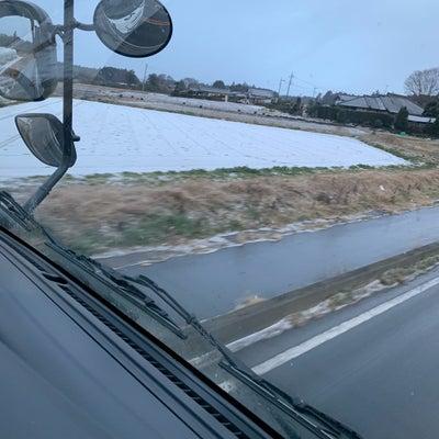 土曜日の朝は雪の記事に添付されている画像