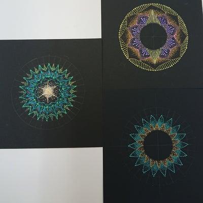 今日は点描曼荼羅の中級コースでした!の記事に添付されている画像