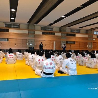 安城柔道会中学生錬成会の記事に添付されている画像