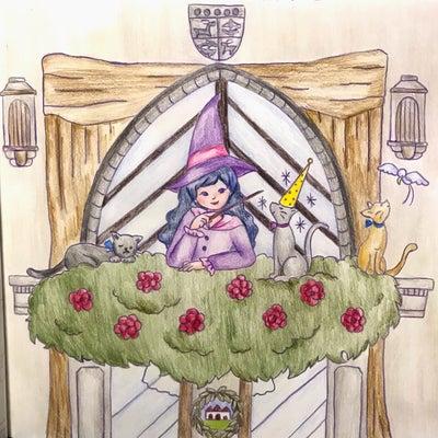 世界一周なぞり描き お祭りをめぐる旅 魔女祭りの記事に添付されている画像