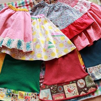 ハンドメイド スカート大量生産とブランケットの記事に添付されている画像