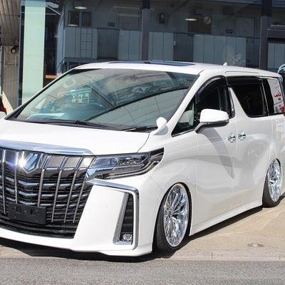 福岡県K様 新車30アルファード後期ACCエアサス公認フルアームコンプリート完成の記事に添付されている画像