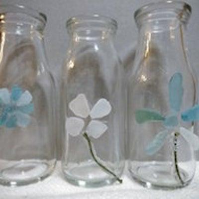 リバーガラス、シーグラスを使う Use river glass, sea glaの記事に添付されている画像